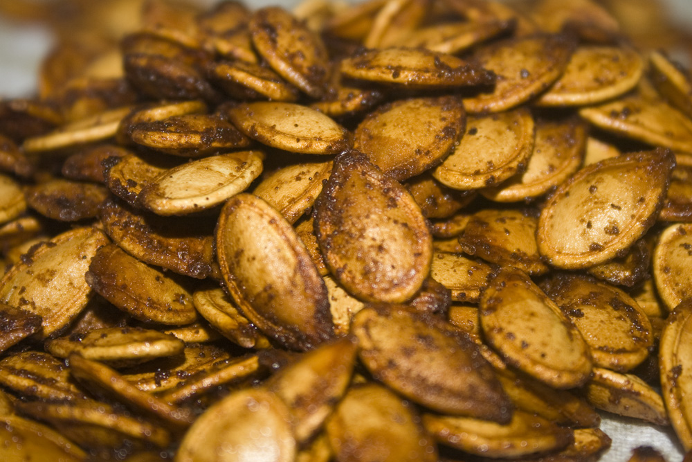 The Best Roasted Pumpkin Seeds Ever | Bakerlady