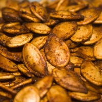 The Best Roasted Pumpkin Seeds Ever
