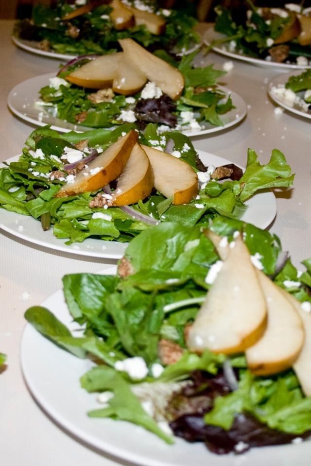 Pear and Feta Salad
