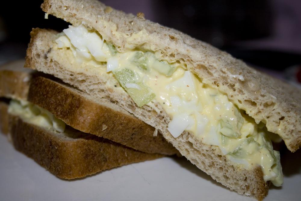 Simple Egg Salad Sandwich | Bakerlady