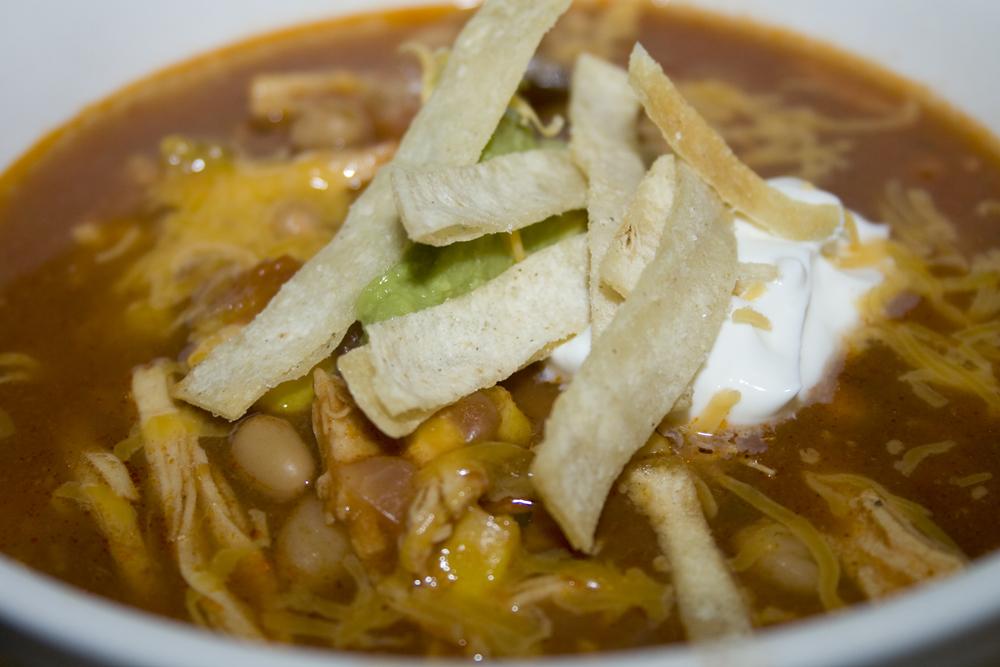 Slow-Cooker Chicken Tortilla Soup | Bakerlady