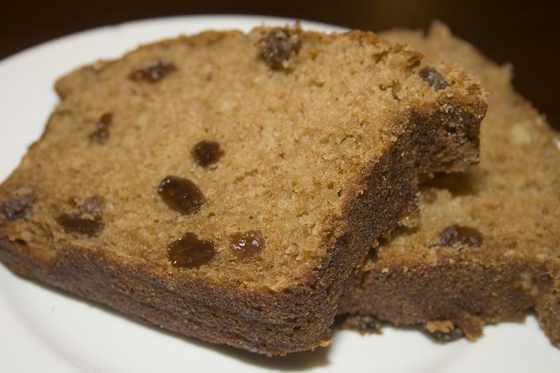 Apple Raisin Breakfast Bread | Bakerlady