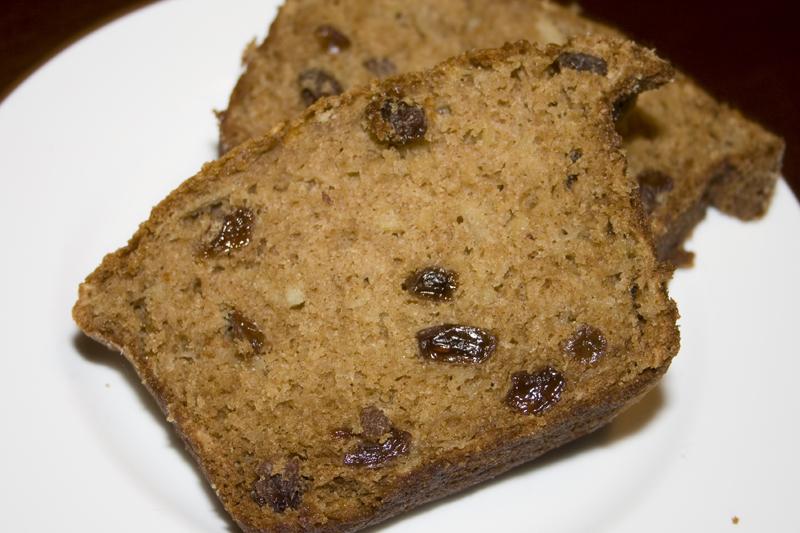 Apple Raisin Breakfast Bread – Bakerlady