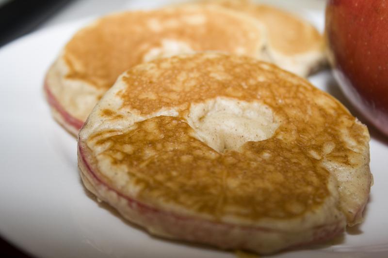 Apple Pancake Apple pancake rings