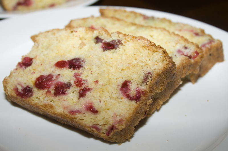 Cranberry Orange Loaf | Bakerlady