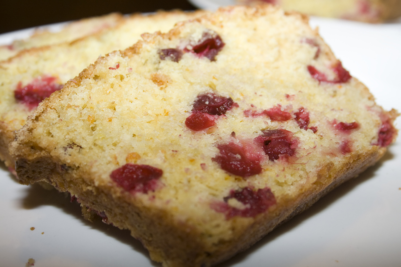 Cranberry Orange Loaf – Bakerlady