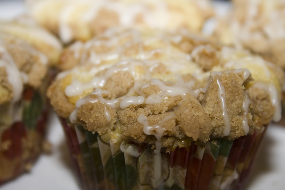 Coffee Cake Muffins (or Single Serving Coffee Cakes)