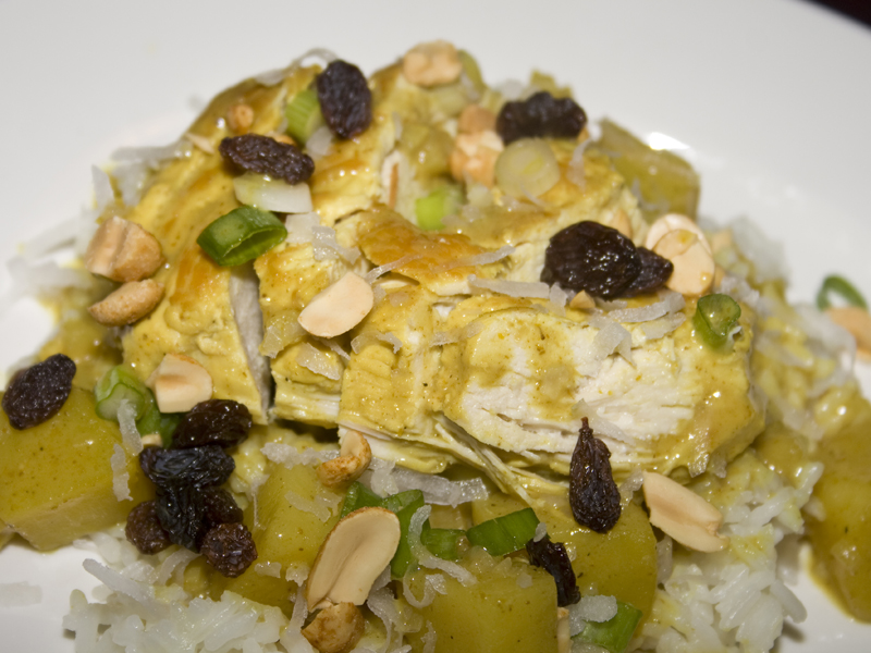 Coconut Curry Chicken01