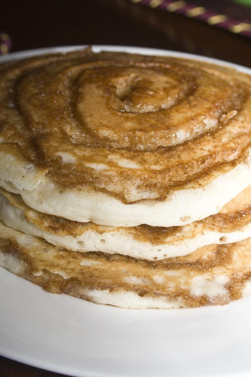 Cinnamon Roll Pancakes – Bakerlady