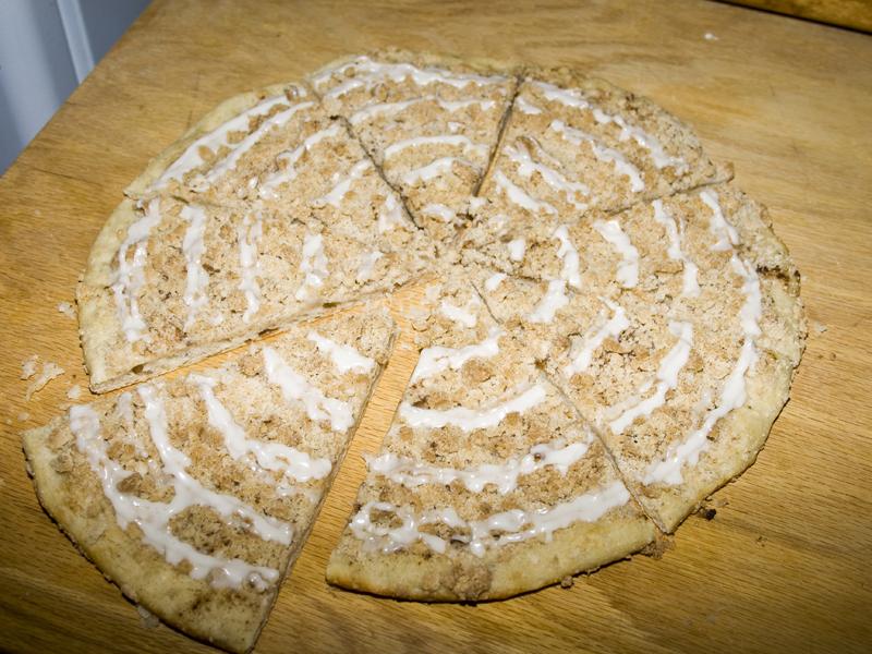 Godfather's Cinnamon Streusel Dessert Pizza – Bakerlady