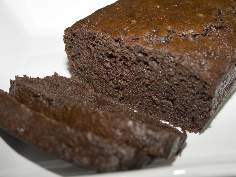 Super Moist Chocolate Zucchini Bread | Bakerlady