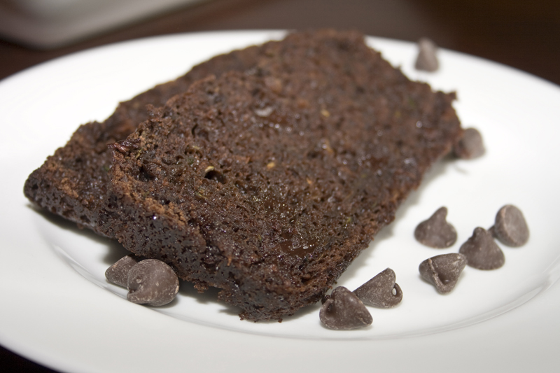 Super Moist Chocolate Zucchini Bread09
