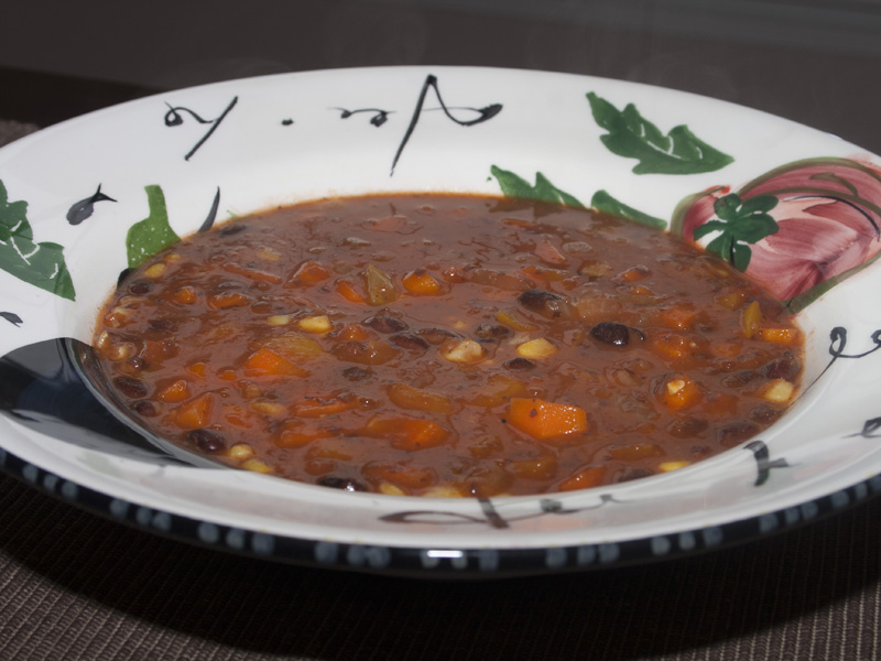 Black Bean Vegetable Soup | Bakerlady