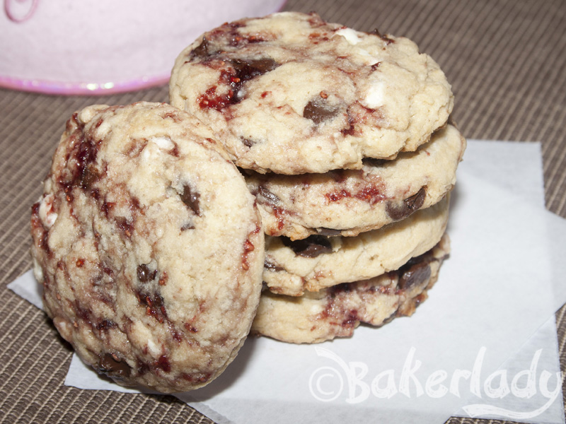 Disneyland's White Chocolate Raspberry Cookie – Bakerlady