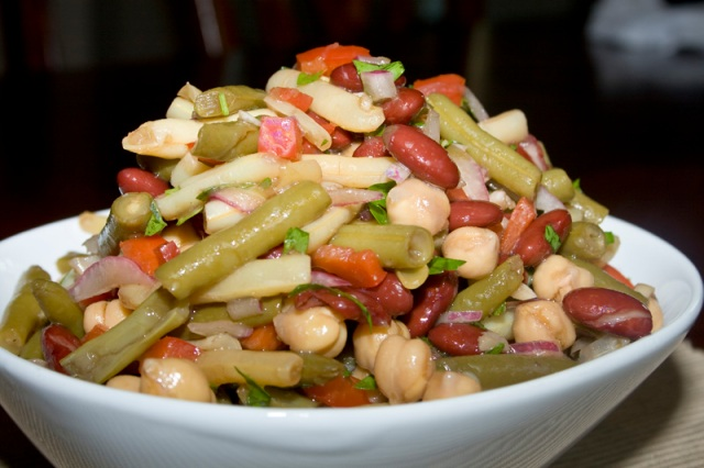 Fabulous Four Bean Salad