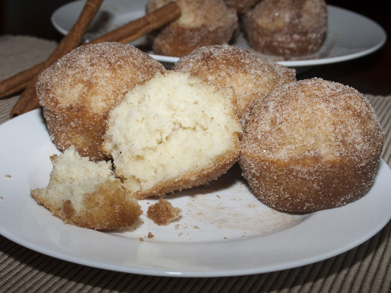 Although these are called French Toast Muffins, the taste is actually ...