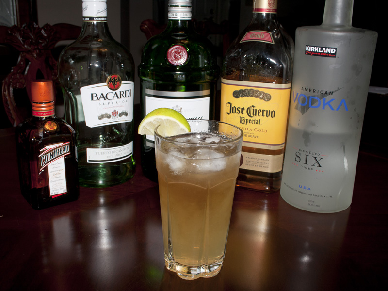How Much Alcohol In Long Island Iced Tea