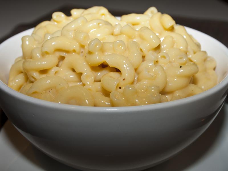 alton brown stovetop mac and cheese