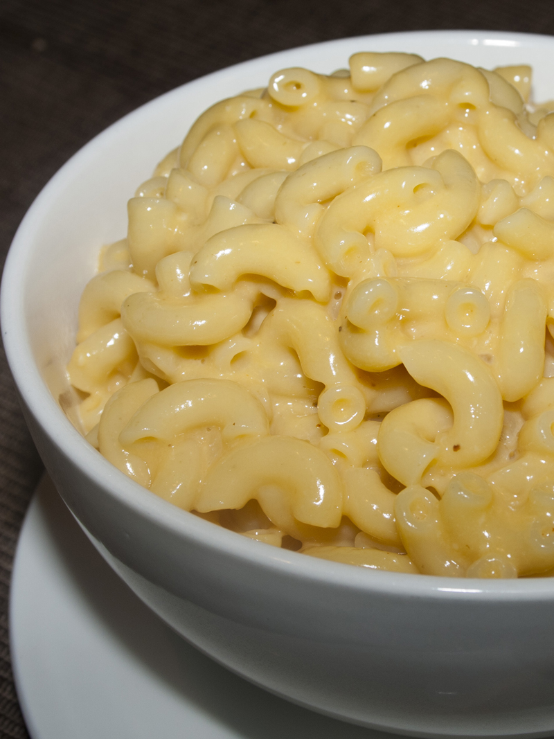 Fat Free Eats: Alton Brown's Stove Top Macaroni & Cheese