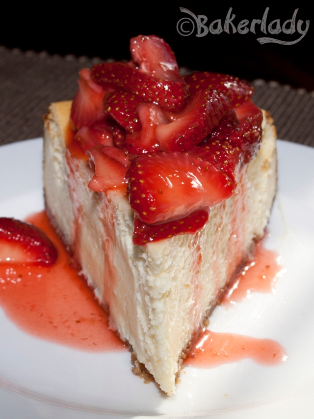 New York Cheesecake - Bakerlady