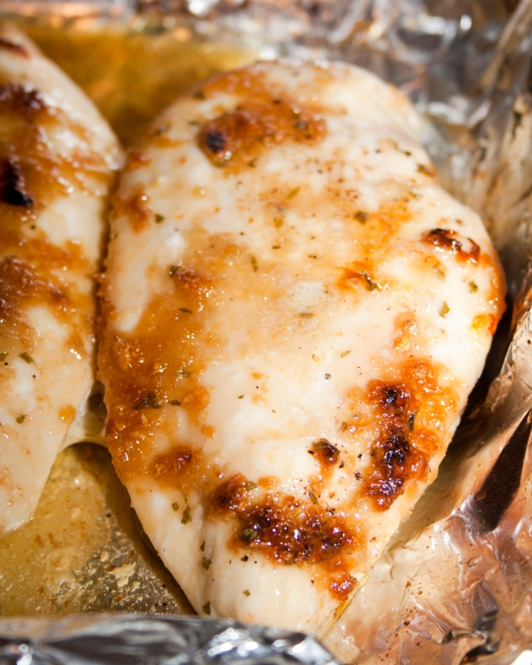 Baked Brown Sugar Garlic Chicken