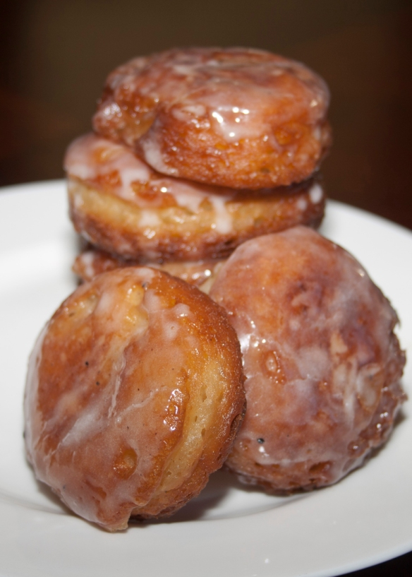 Banana Fritters with Spiced Glaze I Bakerlady