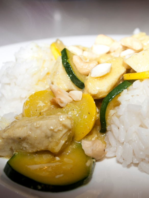 Chicken with Curried Cream Sauce - Bakerlady