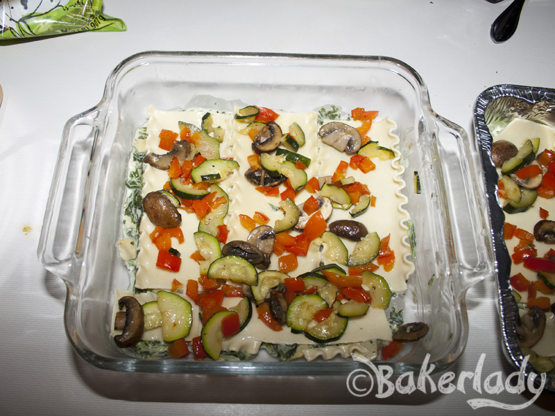 how to make vegetable lasagna with white sauce