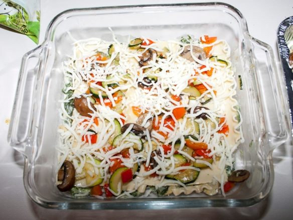 White Vegetable Lasagna15