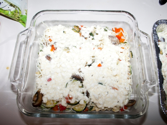 White Vegetable Lasagna16
