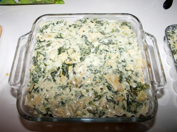White Vegetable Lasagna17
