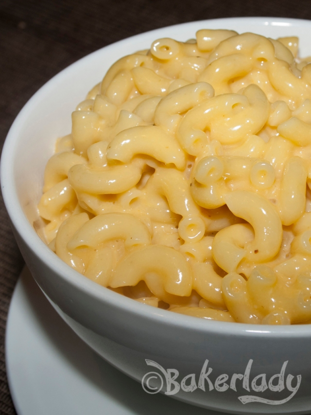 Alton Brown's Stove Top Macaroni & Cheese - Bakerlady