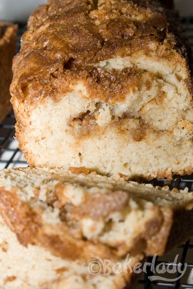 Snickerdoodle Bread - Bakerlady