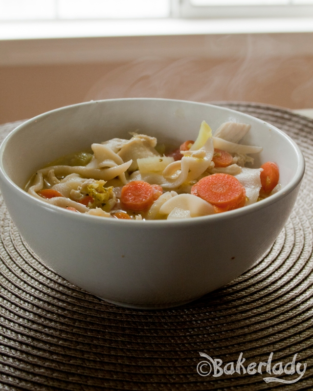 Chicken Noodle Soup - Bakerlady