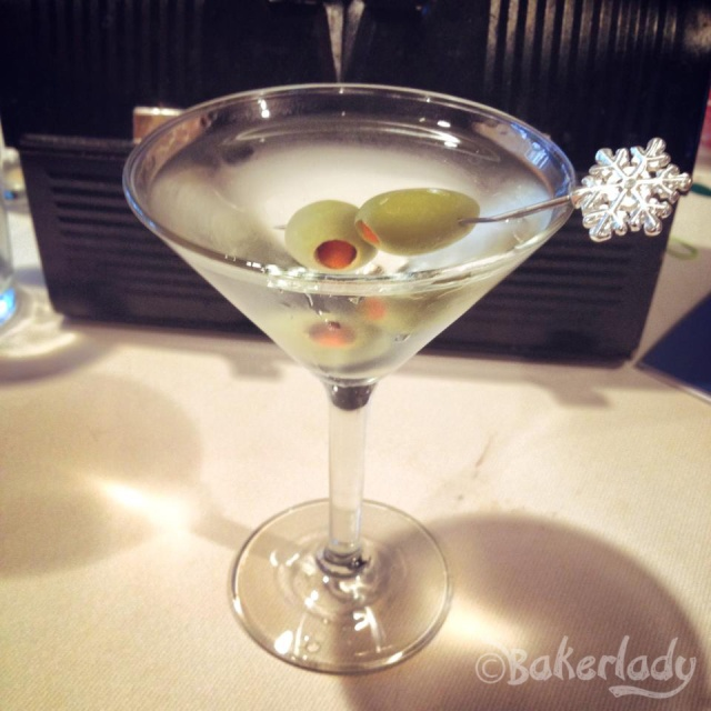 Dirty Martini - Bakerlady