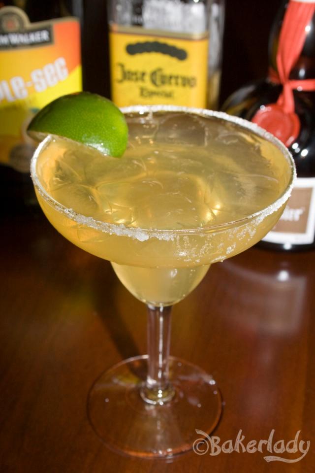 Perfect Margarita On The Rocks - Bakerlady