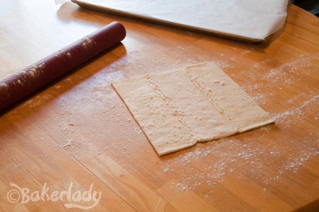 Rustic Raspberry Lemon Tart - Bakerlady