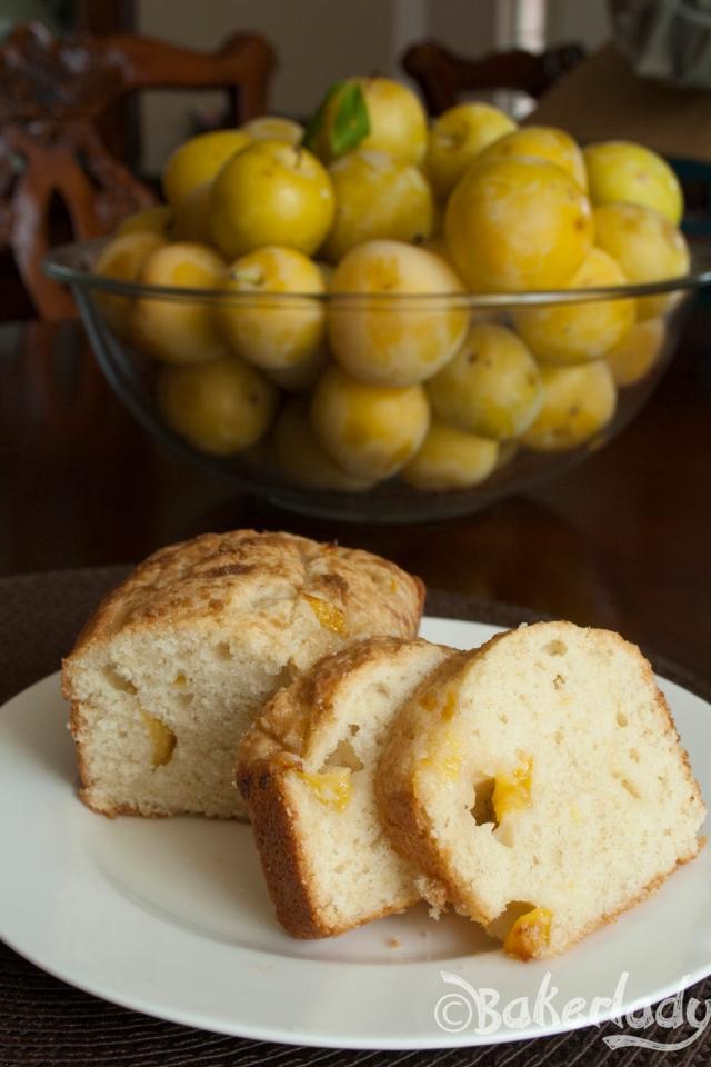Plum Cake Bread - Bakerlady