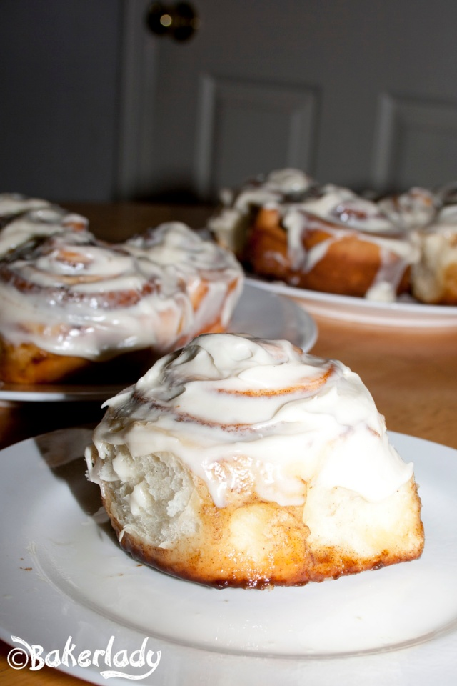 The World's Greatest Cinnamon Rolls - Bakerlady