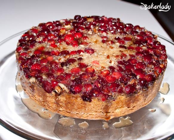 Cranberry Upside Down Coffeecake - Bakerlady