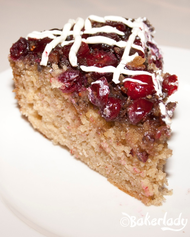 Cranberry Upside Down Coffeecake - Bakerlady