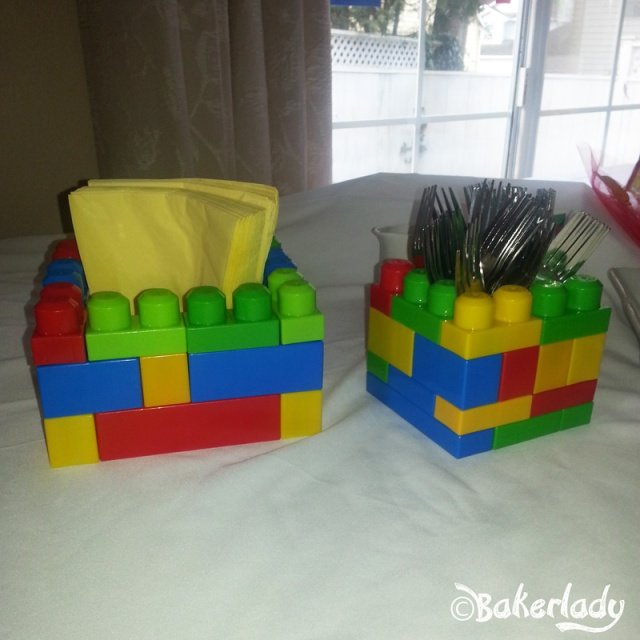 Lego Block Holders - Bakerlady