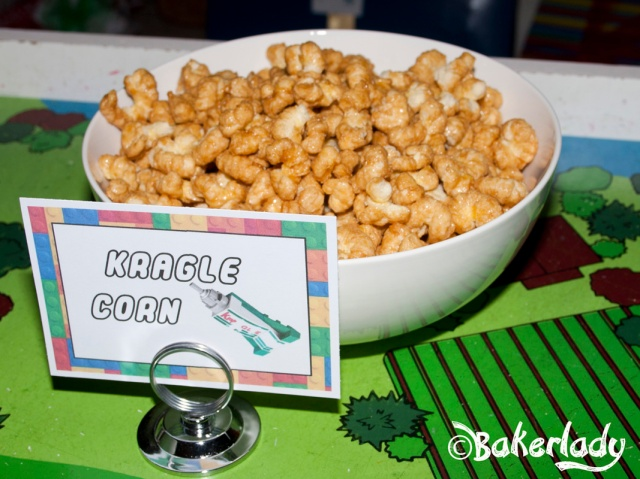 Kragle Corn Lego Party Food - Bakerlady