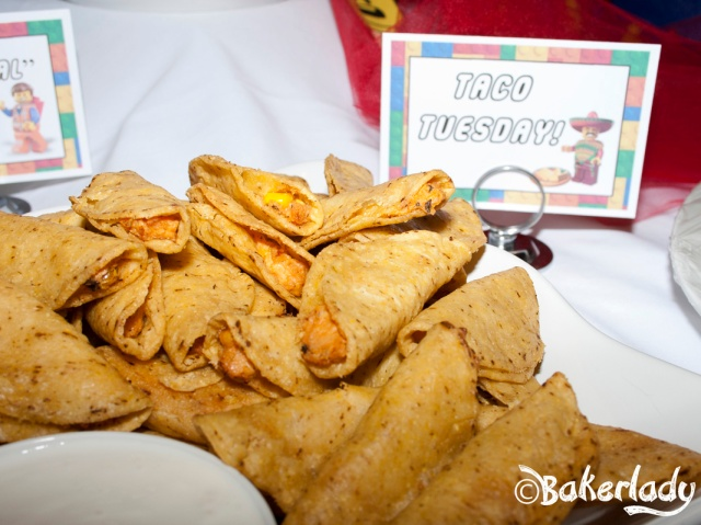 Taco Tuesday Lego Party Food - Bakerlady