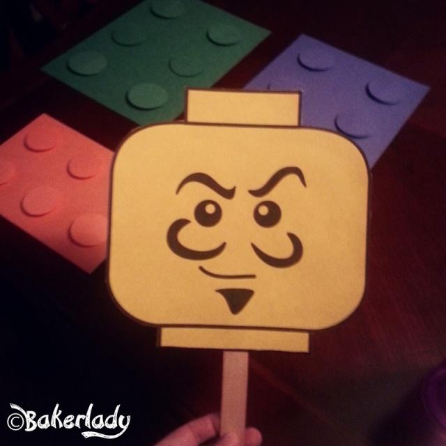Lego Mask - Bakerlady