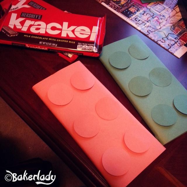 Krackel Lego Prizes - Bakerlady