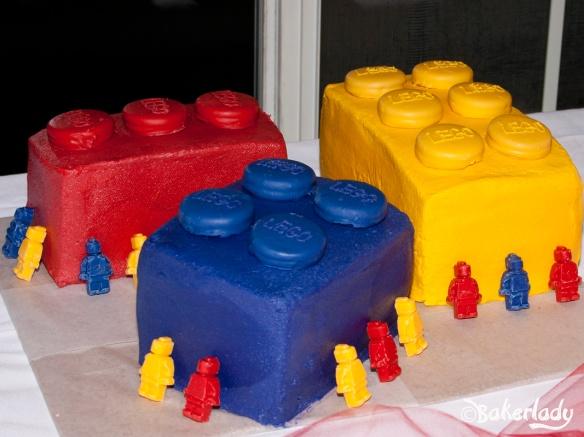 Everything Is Awesome Lego Cake - Bakerlady