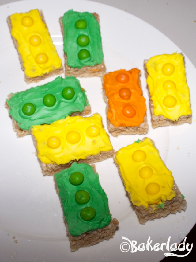 Rice Crispy Legos