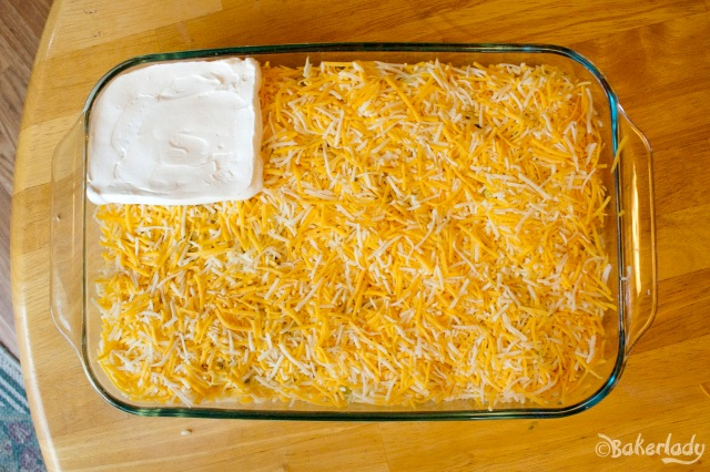 Festive 4th of July Flag Bean Dip - Bakerlady