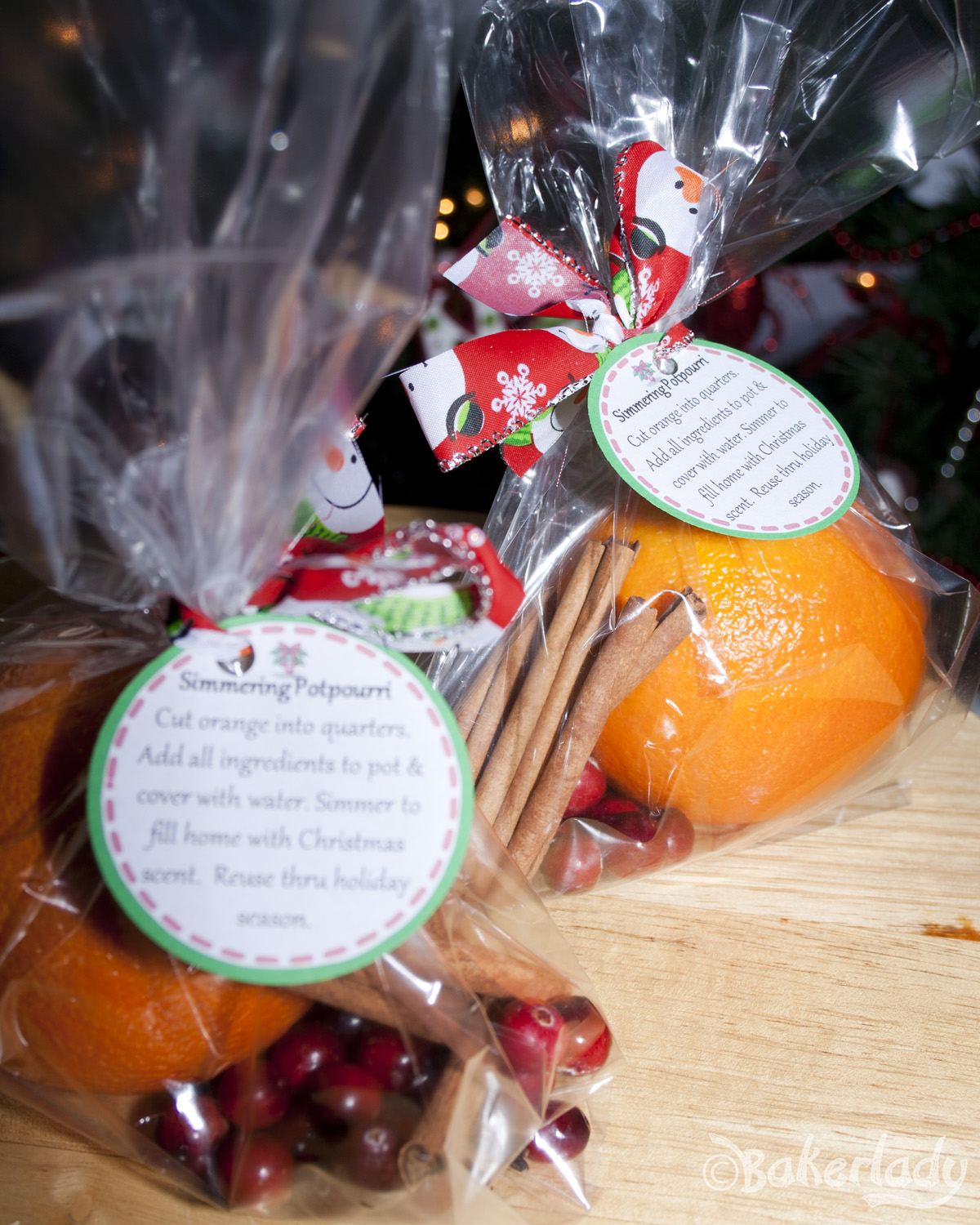 Stove Top Potpourri With Free Printable Gift Tags Bakerlady